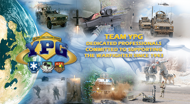 Team YPG - Dedicated professionals committed to supporting the warfighter since 1943.